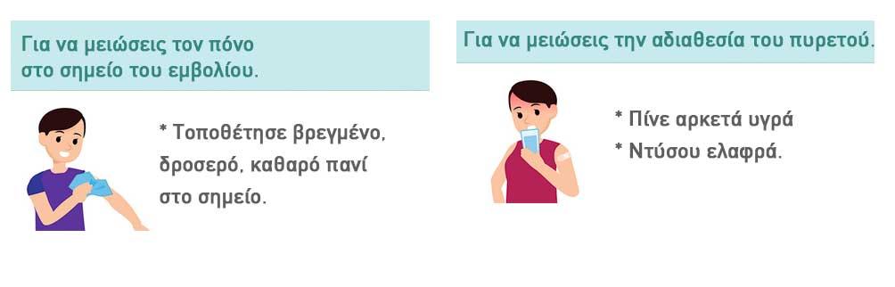 ΕΜΒΟΛΙΟ ΠΑΡΕΝΕΡΓΕΙΕΣ
